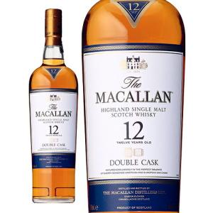 【正規品】ザ・マッカラン ダブルカスク12年/The Macallan Double Cask ビン・瓶 スコットランド  700ml 40.0% スコッチウイスキー ハイボールにおすすめ|unibiswine