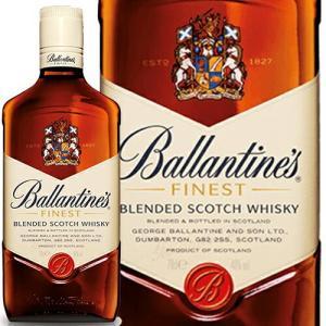 【正規品】バランタイン ファイネスト/Ballantine`s Finest 1本/ビン・瓶 スコットランド  700ml 40.0% スコッチウイスキー ハイボールにおすすめ|unibiswine