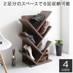 靴箱 スリム コンパクト 省スペース 傘立て付き シンプル モダン シューズラック ブラウン|uniclass-i