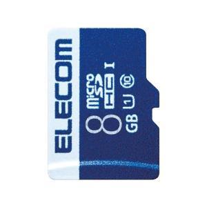 (まとめ)エレコム microSDHCカード 8GB MF-MS008GU11R〔×30セット〕