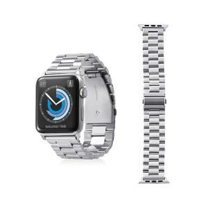 エレコム Apple Watch 42mm/ステンレスバンド/3連タイプ/シルバー AW-42BDS...