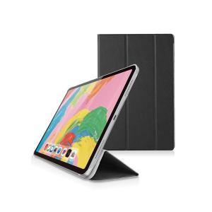 エレコム iPad Pro 11インチ 2018年モデル/フラップカバー/背面クリア/ソフトレザー/...