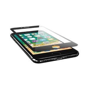 エレコム iPhone8/フィルム/フルカバー/ガラス/0.33mm/ブラック PM-A17MFLG...