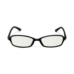 エレコム ブルーライトカット眼鏡/クリアレンズ/スクエアフレーム/ブラック G-BUC-S02BK