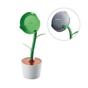 (まとめ)エレコム GoogleHomeMini用/FlowerStand/グリーン AIS-GHM...