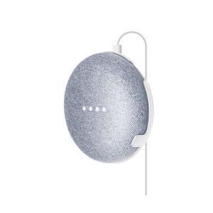 (まとめ)エレコム GoogleHomeMini用/WallMountCase/ホワイト AIS-G...