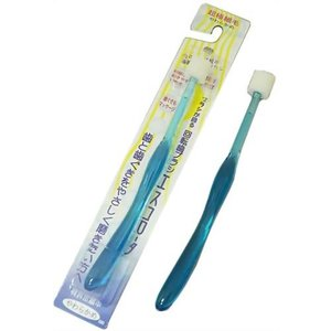 [メール便で送料180円]回転歯ブラシ エスコロータ(やわらかめ)0.076mmの超極細毛!31000本の歯茎へのやさしさ|uniclass-i