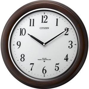 シチズン CITIZEN リズム時計 電波掛け時計 リバライト RW495 8MY495-006|uniclass