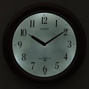 シチズン CITIZEN リズム時計 電波掛け時計 リバライト RW495 8MY495-006|uniclass|02