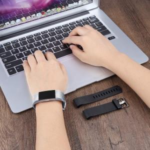 バンド for Fitbit Charge 2 交換ベルト TPU素材 調整可能 多色選択 柔らかい運動バンド 対応 Fitbit Char unicorn802