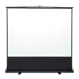 イーサプライ プロジェクタースクリーン 100インチ 4:3 自立式 床置き パンタグラフ EEX-PSY1-100V|unicorn802