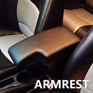 アームレスト センターコンソール ドリンクホルダー コンソールボックス 運転席 車肘置き 車 収納ボックス 小物入れ UPレザー 軽・コンパ|unicorn802
