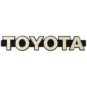 TOYOTA (トヨタ) 純正部品 ラジエータ グリル (フロントパネル) エンブレム 品番75316-90A00|unicorn802