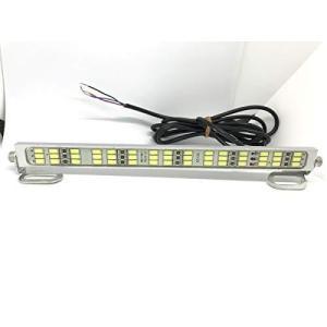 12V 24V LED アルミバーライト 作業灯 ナンバー灯 トラック トレーラ トラクタ バイク (24V車用)|unicorn802