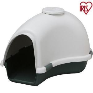 犬舎 ドーム型 犬小屋 グレー/グリーン USD-950 アイリスオーヤマ