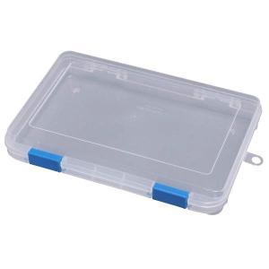 小物収納に便利な、中身の見えるプラスチックケース! 小物や文具用品等をすっきり収納できます。 仕切り...
