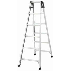 ステップ幅広 はしご兼脚立 踏み台 アルミ はしご ハシゴ 梯子 インテリア おしゃれ RS2.0-18 unidy-y