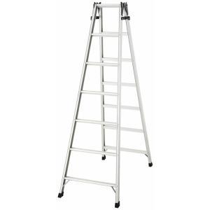 ステップ幅広 はしご兼脚立 踏み台 アルミ はしご ハシゴ 梯子 インテリア おしゃれ RS2.0-21 unidy-y