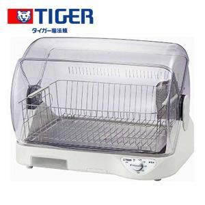 食器乾燥機 小型 コンパクト サラピッカ 温風式 DHG-S400 ホワイト タイガー 食器洗い機 unidy-y