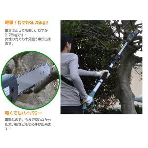 高枝切りバサミ 高枝切り 電動高枝切りチェンソ...の詳細画像2