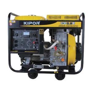 ディーゼルエンジン発電機のハイパワーモデル。 100/200V同時出力可能で、様々なシチュエーション...
