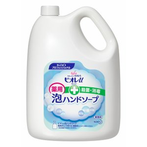ビオレU泡ハンドソープ 業務用4L マイルドシトラスの香り 531044 花王 (D)