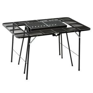 BBQテーブル ブラック NE3322 ノースイーグル (D)|unidy-y