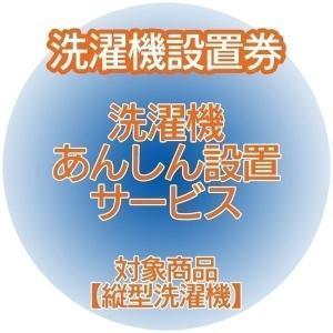 洗濯機あんしん設置サービス 洗濯機設置券 (対象商品:縦型洗濯機) (代引き不可)|unidy-y