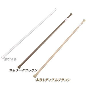突っ張り棒 つっぱり棒 伸縮棒 超スリム RSV-110 アイリスオーヤマ 物干し 物干 ホワイト ...