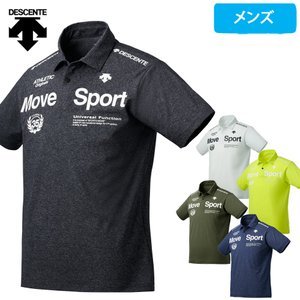 デサント Move Sport ポロシャツ メンズ タフ T ドライ