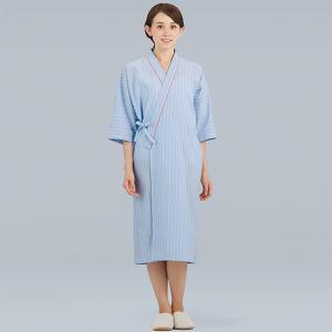 医療 検診衣 ガウンタイプ  男女兼用 七分袖 289-98|uniform-japan