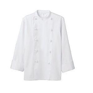 コックコート TC6621 長袖 男女兼用 厨房 白衣 レストラン カフェ キッチン 飲食 調理服 ...