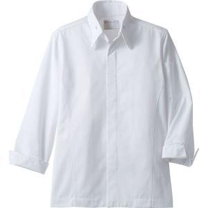 コックコート 長袖 男女兼用 調理服 厨房服 飲食 住商モンブラン MONTBLANC 6-1021