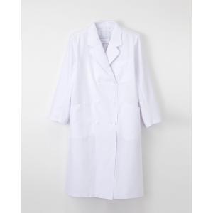 ナガイレーベン 医療 ドクターコート 白衣 診察衣 レディース ダブル 長袖 KEX5120|uniform-japan