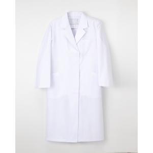 ナガイレーベン 医療 ドクターコート 白衣 診察衣 レディース シングル 長袖 KEX5130|uniform-japan