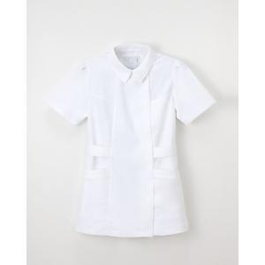 ナガイレーベン 医療 チュニック 白衣 レディース 半袖 FE-4512|uniform-japan
