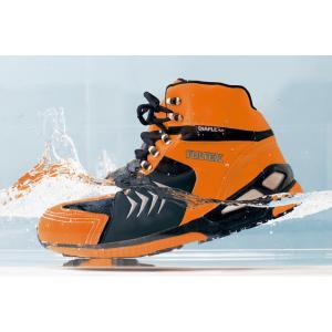 防水セーフティシューズ 安全靴 AZ-56380 22.5〜29cm  ミドルカット 男女兼用 AI...