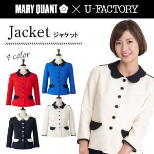 ジャケット/U-FACTORY/MARYQUANT/マリークワント/マリークヮント/M43031-43034/5号-17号/オフィス/レディース/事務服/受付/チクマ|uniform-net-shop