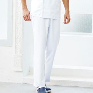 男性用メディカルパンツ/股下フリー/メンズパンツ/メディカル白衣3色/5015EW/ポリ100%