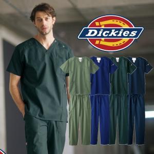 ディッキーズ スクラブ パンツ セット 白衣 医療 メンズ レディース 男女兼用 7045SC 5020SC フォーク|uniform-net-shop