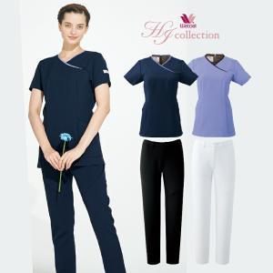 上下セット/スクラブ/パンツ/HI703/HI301/送料無料/ワコール/HIコレクション/医療/レディース/女性用/wacoal|uniform-net-shop