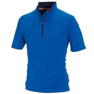 作業服 半袖ジップシャツ 415 バートル
