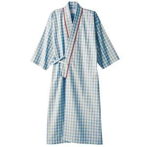 医療白衣 患者衣(8分袖・ガウン) 男女兼用 59-411 住商モンブラン|uniform-shop