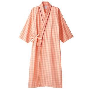 医療白衣 患者衣(8分袖・ガウン) 男女兼用 59-413 住商モンブラン|uniform-shop