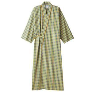 医療白衣 患者衣(8分袖・ガウン) 男女兼用 59-415 住商モンブラン|uniform-shop