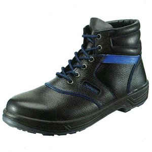 安全靴 安全靴 編長靴 SL22-BL シモン|uniform-shop