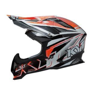 KYTヘルメット STRIKE EAGLE ストライクイーグル ストライプ ホワイト/レッド フロー KYT ケーワイティ SG規格 MFJ公認 YJEA0003|uniform-shop