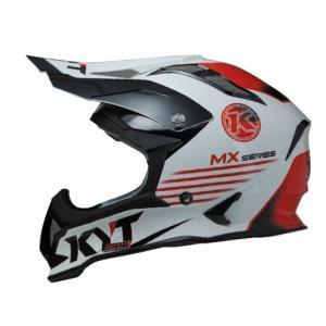 KYTヘルメット STRIKE EAGLE ストライクイーグル K−MXシリーズ ホワイト/レッド KYT ケーワイティ SG規格 MFJ公認 YJEA0008|uniform-shop