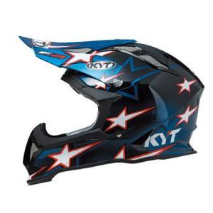 KYTヘルメット STRIKE EAGLE ストライクイーグル ロマン・フェーブル スターブルー レプリカ KYT ケーワイティ SG規格 MFJ公認 YJEA0012|uniform-shop