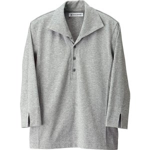 フード外食産業 男女兼用七分袖ニットシャツ CU2696 天竺 セブンユニフォーム|uniform-store|03